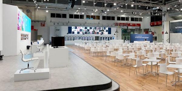 Messestand, Messebau, Messetechnik alles aus einer Hand von PINK Event Service für die Messen Karlsruhe, Mannheim und Frankfurt