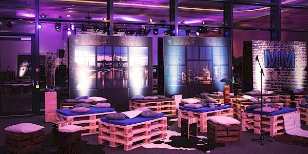 Mitmobiliar für Events und Messe in Karlsruhe, Mannheim und Frankfurt