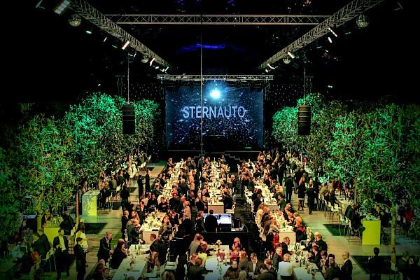 Glashalle Leipzig - Kunden-Gala mit Veranstaltungstechnik von PINK Event Service