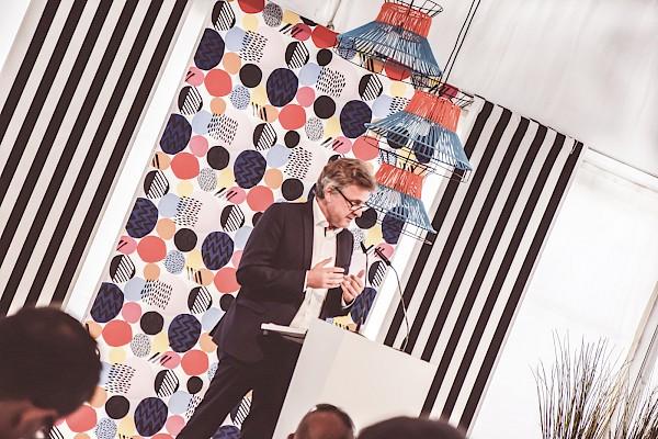 Karlsruher OB Mentrup bei der IKEA Grundsteinlegung - Eventmanagement und Veranstaltungstechnik von PINK Event Service