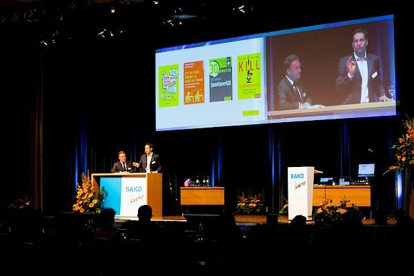 Veranstaltungstechnik beim BÄKO Kongress im Maritim Hotel in Bonn mit Live-Bild und Eventtechnik