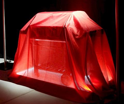Das Produkt im Mittelpunkt - Präsenation bei Roadshow für Weber Grill mit Ambientebeleuchtung für E.Style