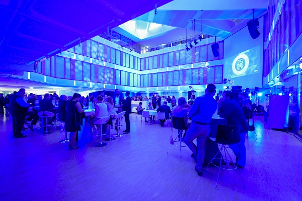 Der BGV Lichthof in Karlsruhe als Eventlocation für Firmenjubiläum mit PINK Event Service