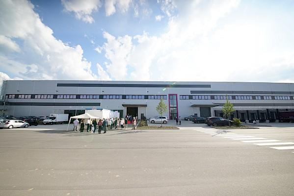 Einweihung des neuen Logistikzentrums in Groß-Gerau bei Frankfurt mit PINK Event Service