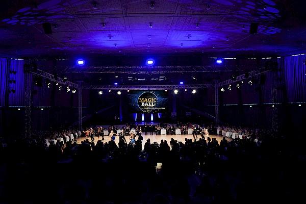 Das Gala Ereignis 2019 in Karlsruhe - der Magic Ball in der Schwarzwaldhalle.