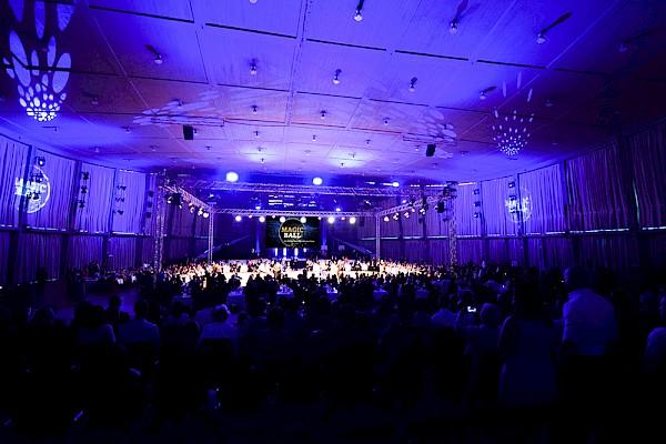 Liveübertragung, bester Sound und feine Lichtatmosphäre mit Veranstaltungstechnik von PINK aus Karlsruhe und Frankfurt.