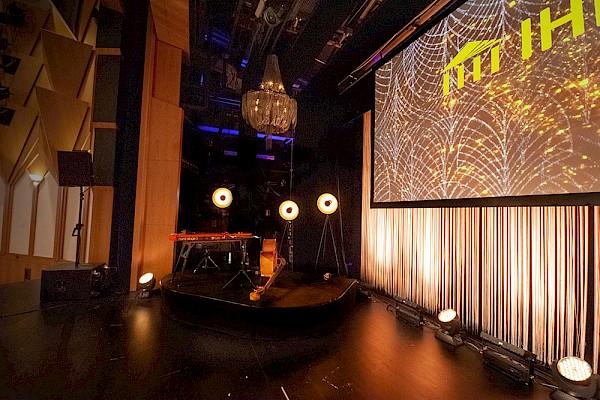 Showkonzept der Eventagentur PINK Event Service aus Karlsruhe und Frankfurt mit Veranstaltungstechnik und Eventkonzept.
