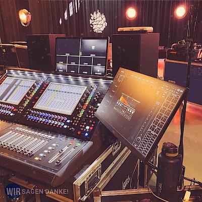 Live- Digital-Event für Corona Alltagshelden WIR SAGEN DANKE als Online-Festival aus Mannheim mit PINK Event Service