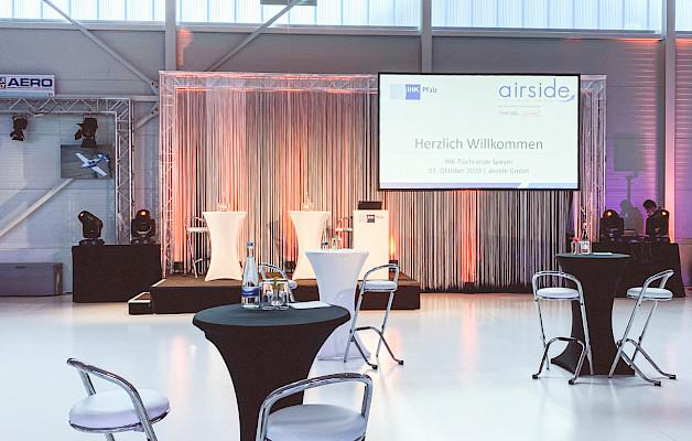 PINK Event Service richtet die IHK-Tischrunde in Speyer aus