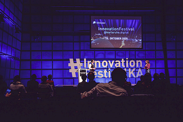 #InnovationFestival Karlsruhe mit PINK Event Service
