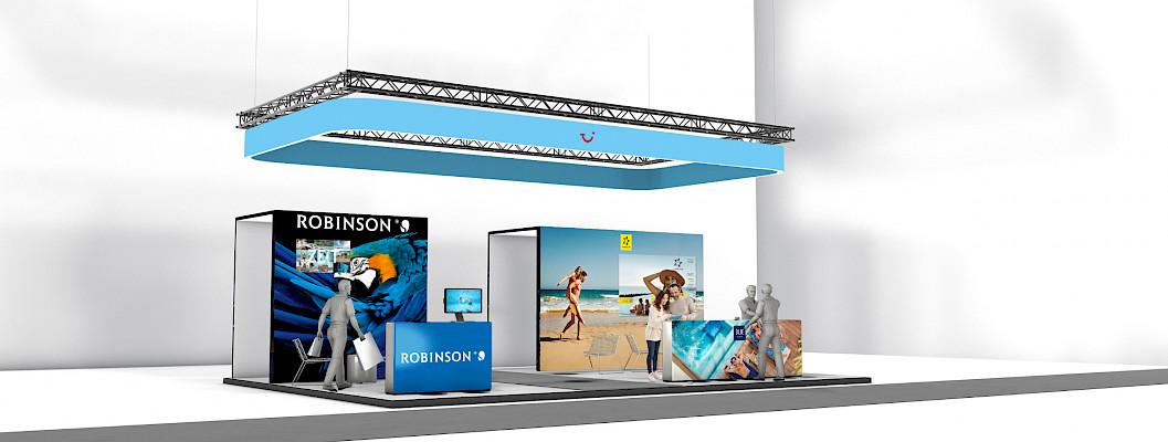 TUI Franchise Jahrestreffen 2020 Messestand Robinson