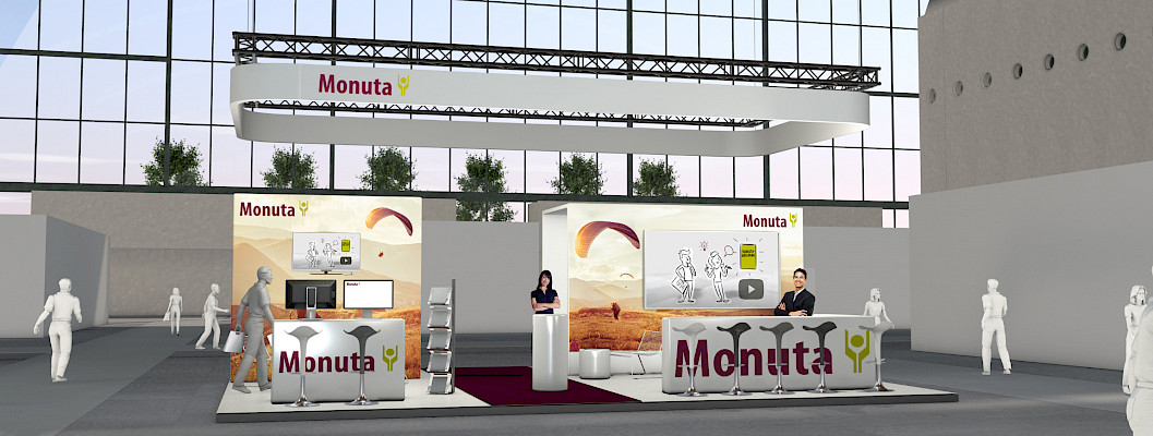 Monuta Messestand