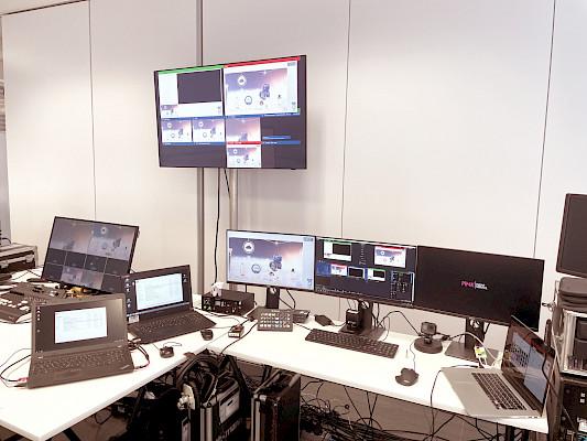 WIKA - Streaming Studio vor Ort