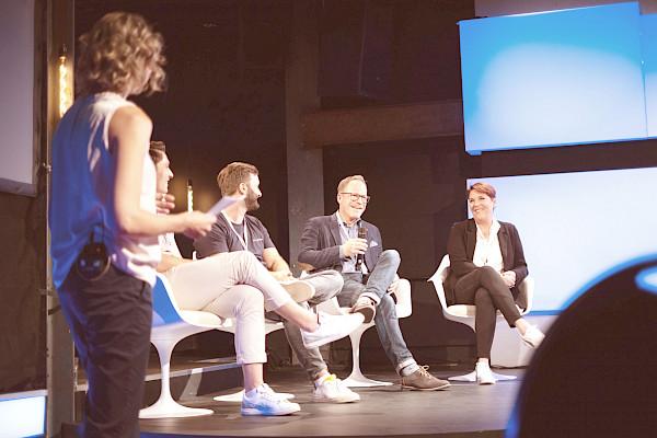 TALKOMO Event in Zürich - Talkrunde
