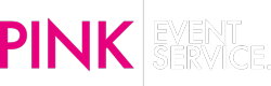Pink Event Service Logo